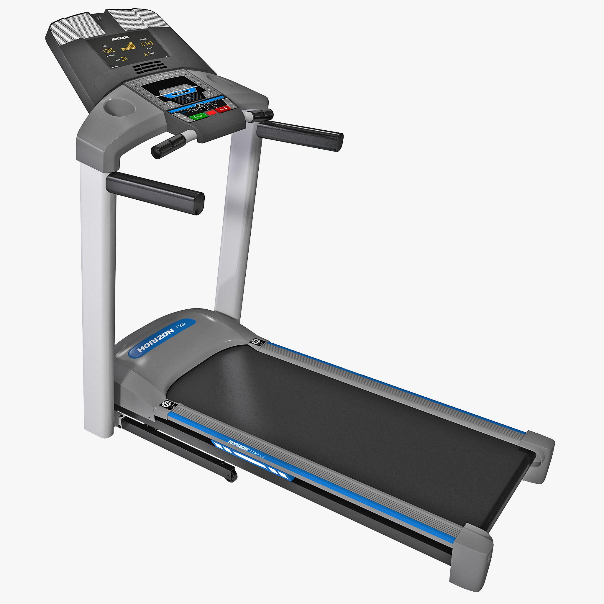 3d Treadmill Horizon Fitness T202 Model