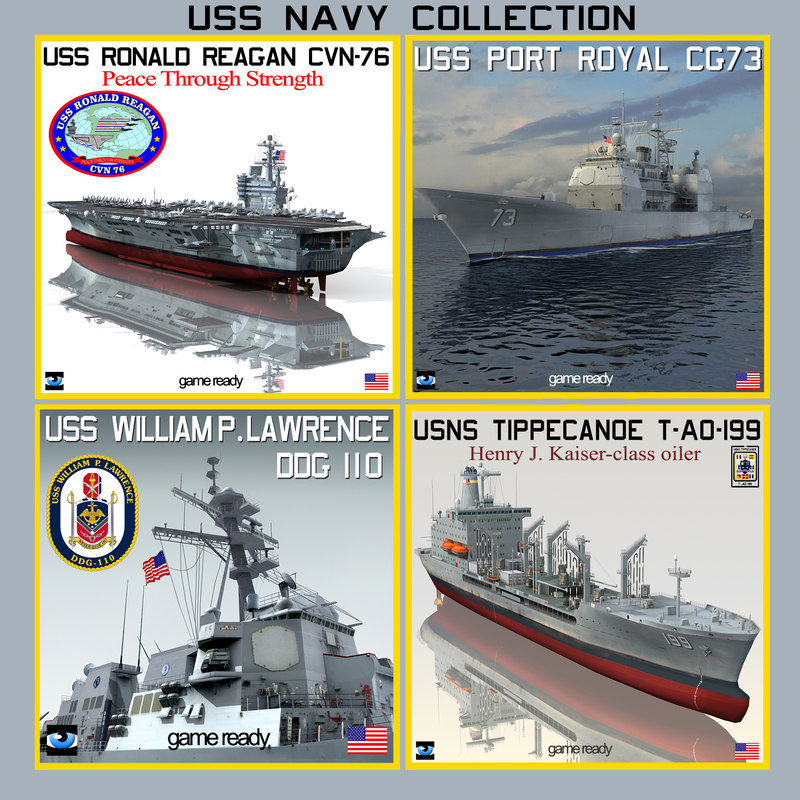 USS NAVY Ship Collection