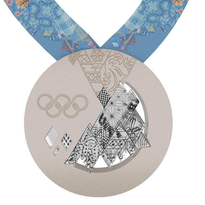 Sochi Olimpic Winter Games medal