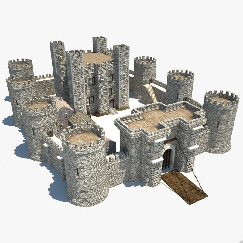 Maya medieval castle Design a castle online