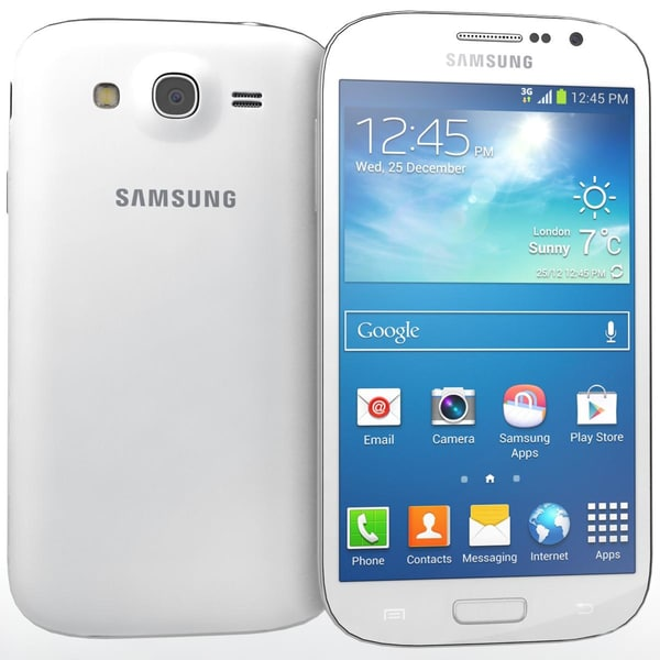 Sumsung Galaxy Grand Neo White 3D Models