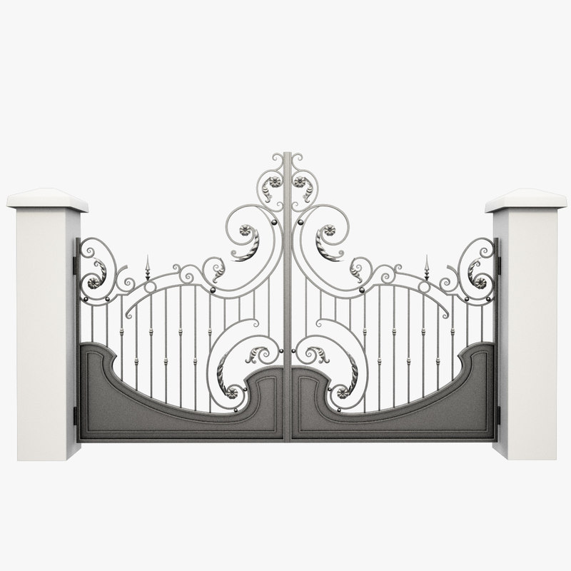 Wrought Iron Gate 27
