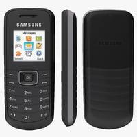 Samsung E1080T 3D models