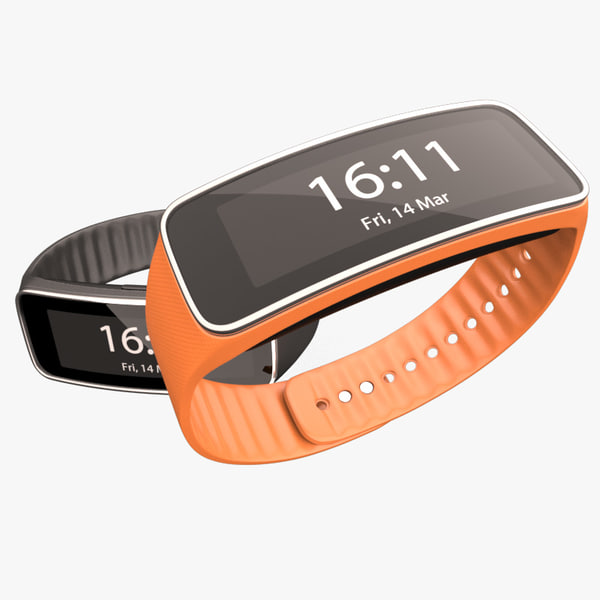 Samsung Gear Fit 3D Models