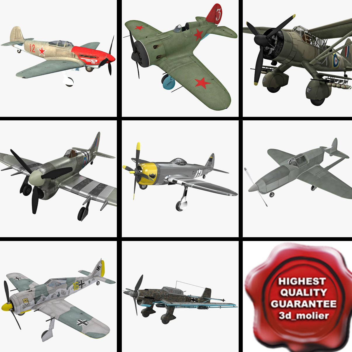 World War II Aircraft Collection 3