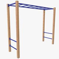 monkey bars 3D models