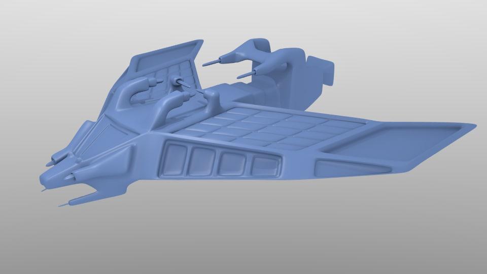 SpaceShip Tessarae