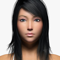 Asian Woman 3D models