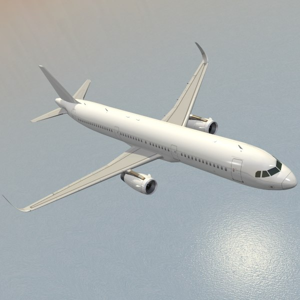 Airbus A321neo 3D Models