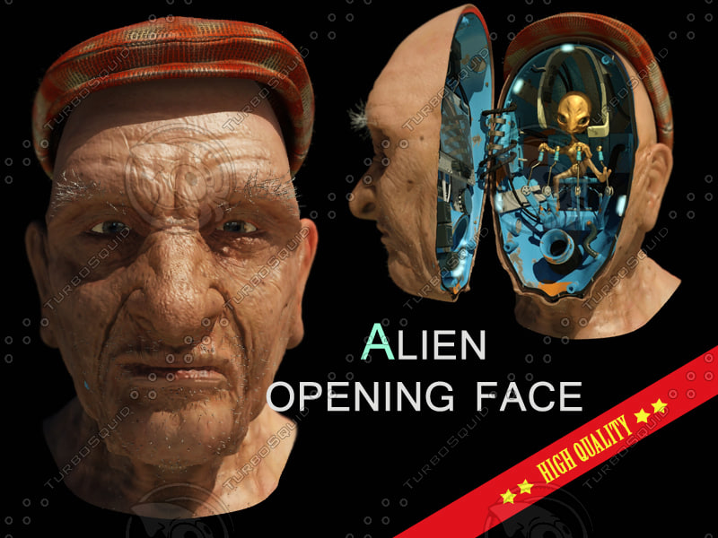 MenInBlack face alien(MIB)