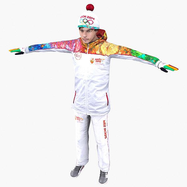 Olympic Sochi 2014 Male Character