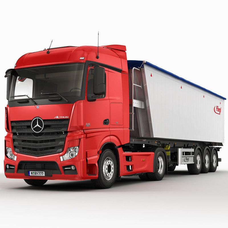 Mercedes Actros 2012 grain