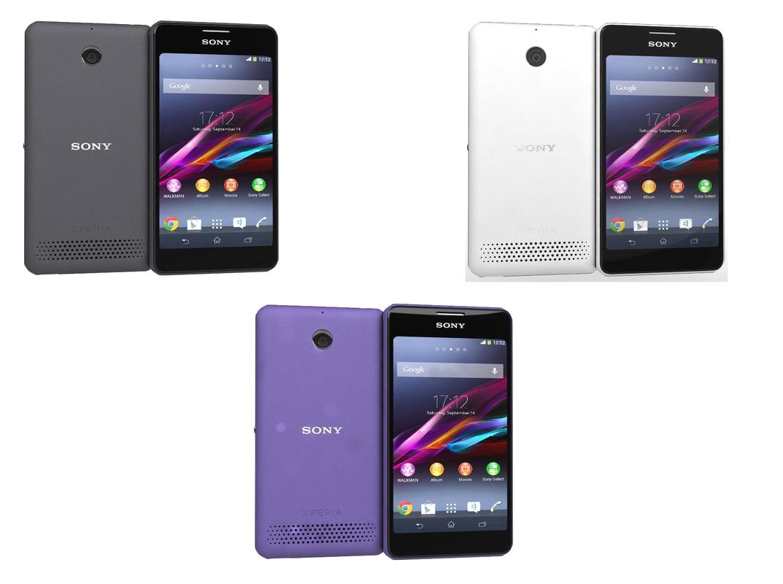Sony Xperia E1 & E1 Dual All Colors