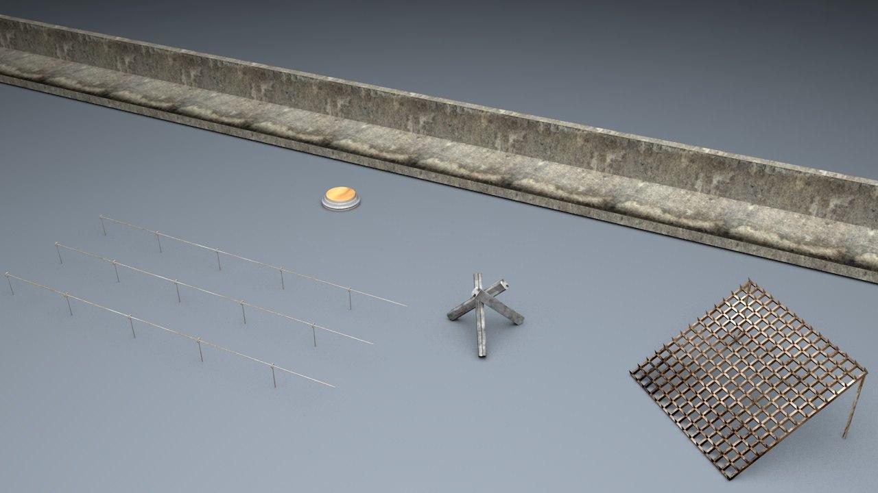 Berlin Wall Trap Elements