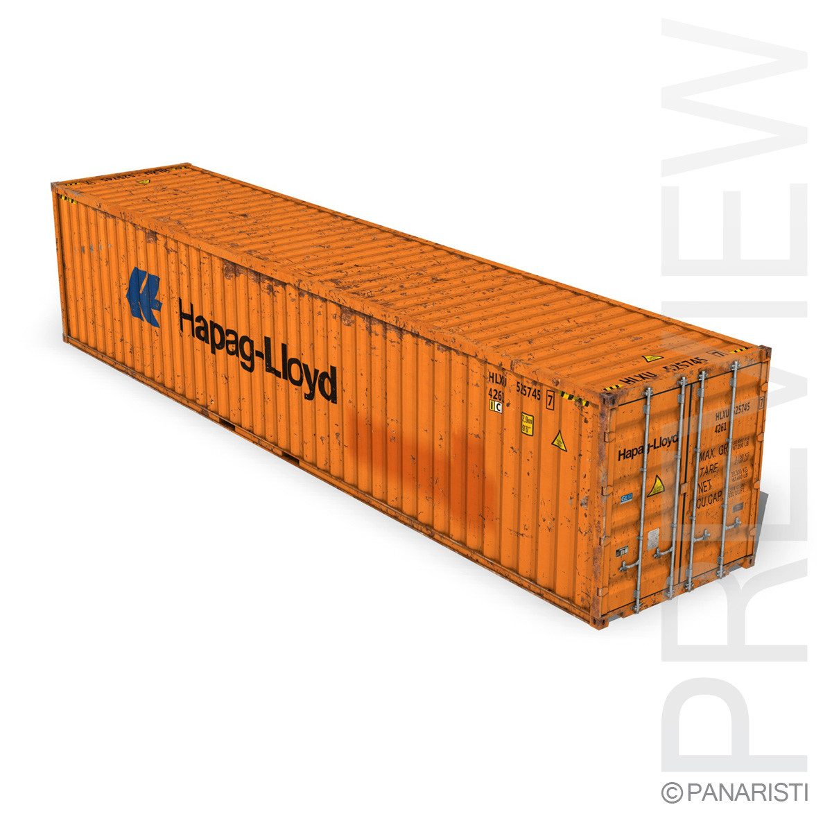 40ft Shipping Container - Hapag Lloyd