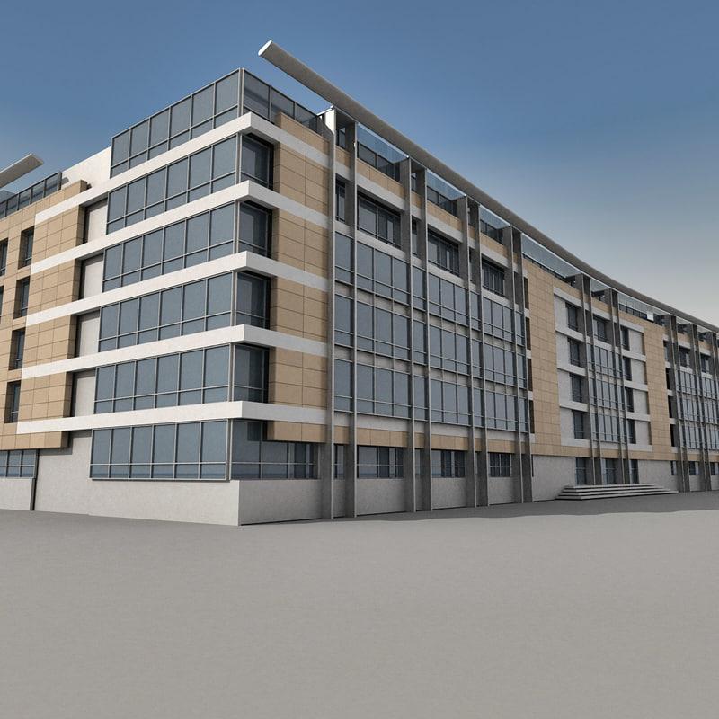 Modern Building 033