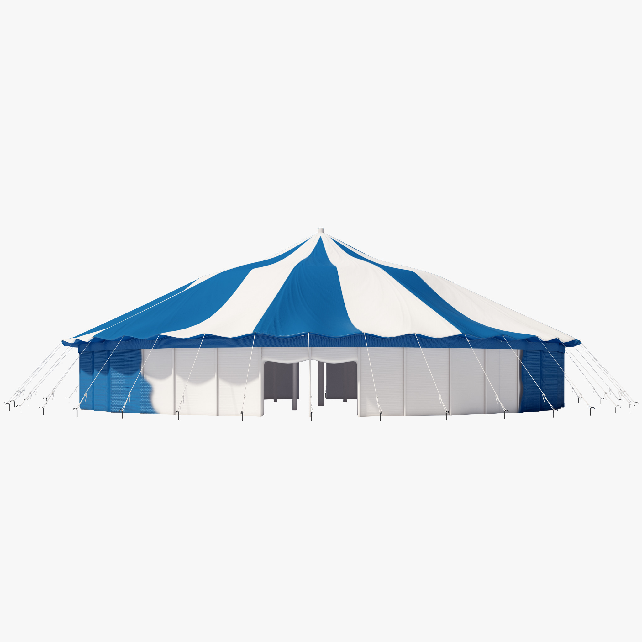 Round Party Tent 3d model by 3d_molier: 3d_molier 3d models
