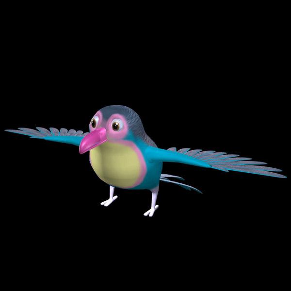 nice bird 3D Models