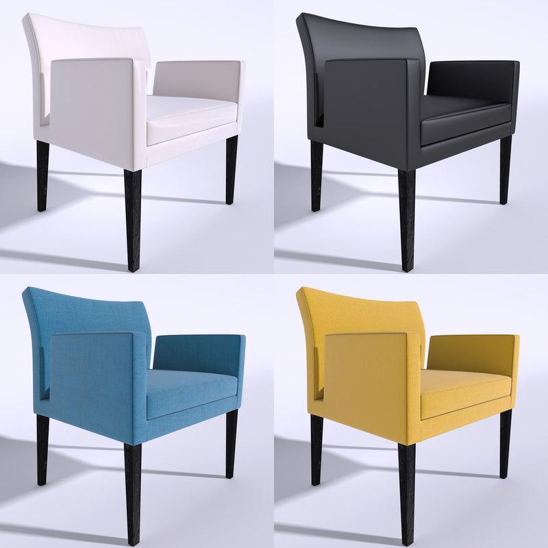 3d chair vera model