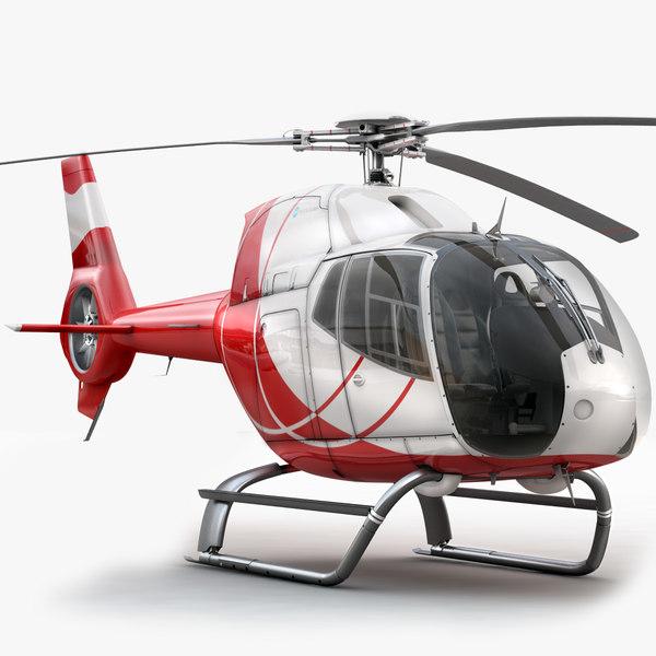 Eurocopter EC 120 3D Models