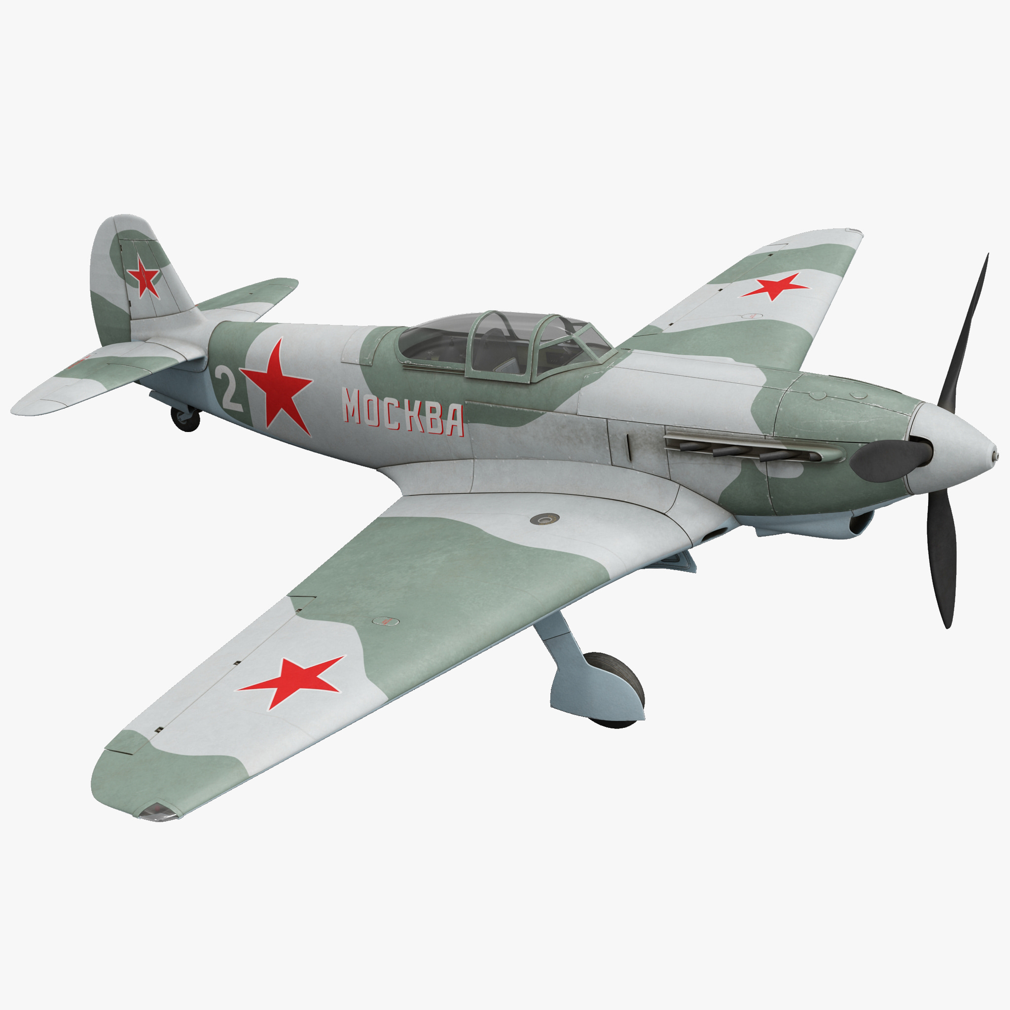 Yakovlev Yak-9 Soviet World War II Fighter 2_1.jpg