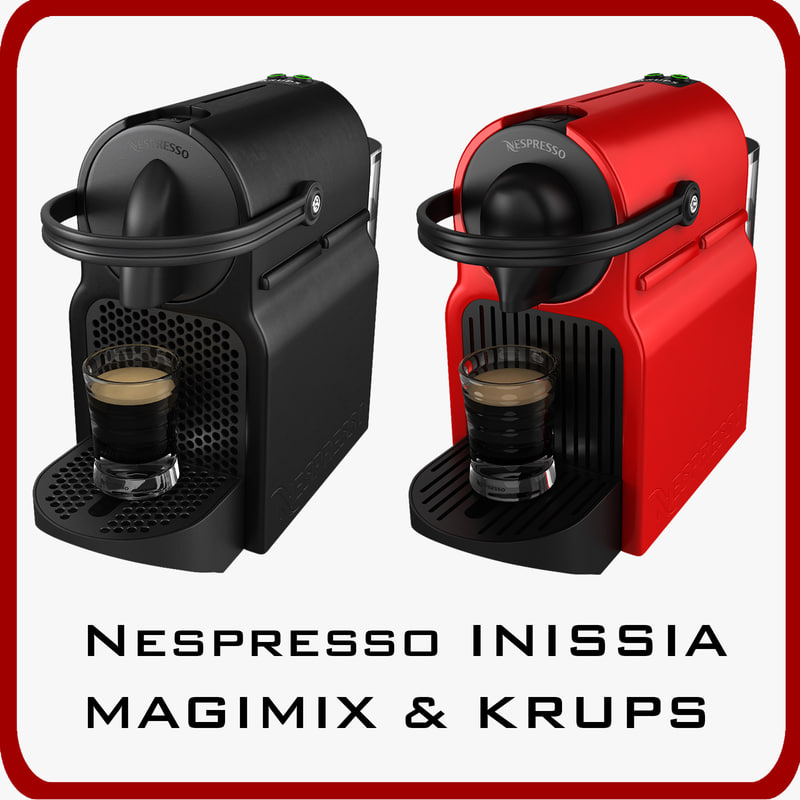 Nespresso Inissia. new inissia black coffee machines nespresso ...