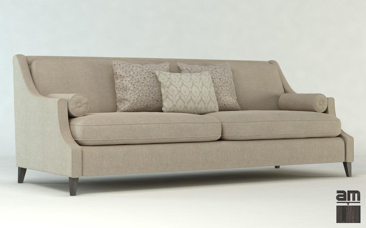 Elegant Models Of Contemporary Sofa Sofa Upholstery Furniture 3d Obj