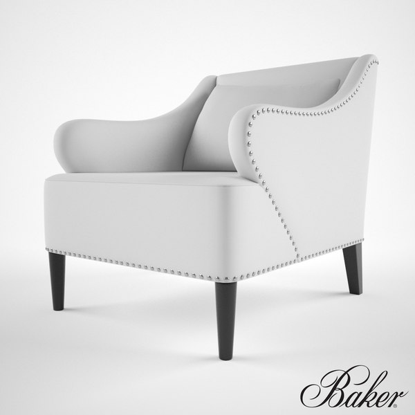 Baker Avenue Road armchair 3D Models