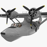 Military Flying Boat 3D models