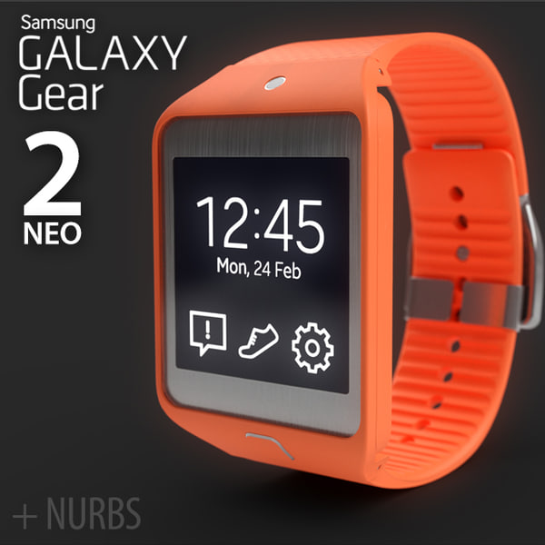 Samsung Galaxy Gear 2 NEO 3D Models