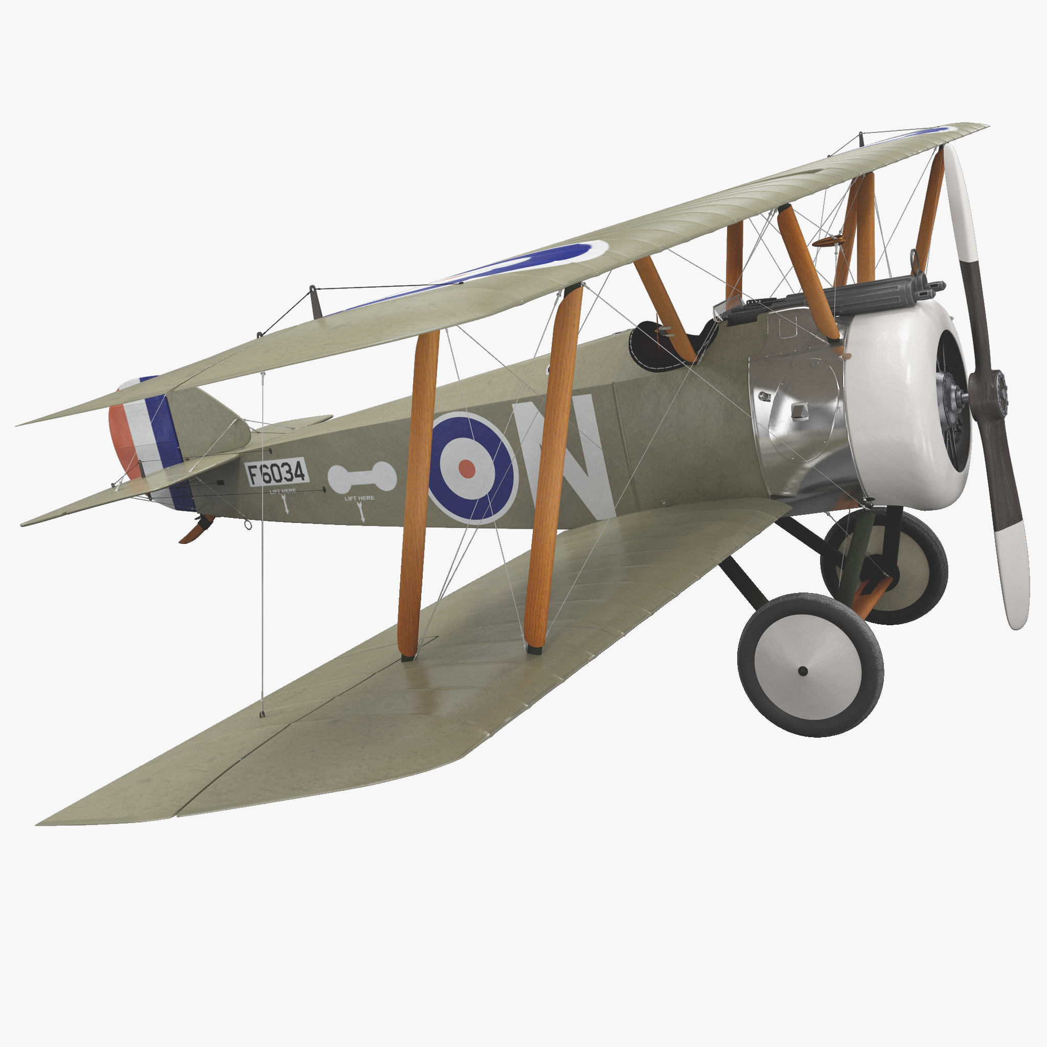 British WWI Biplane Fighter Sopwith F1 Camel Rigged_217.jpg
