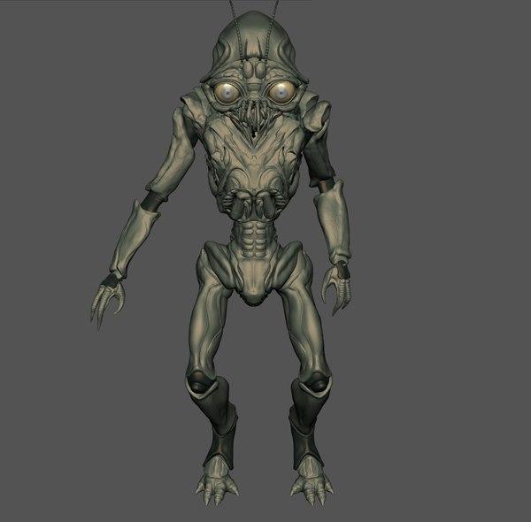lil alien 3D Models