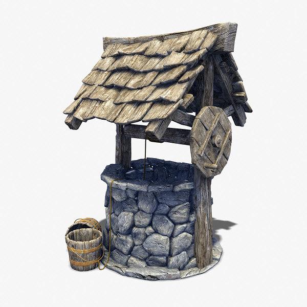 Water Well 3D Models