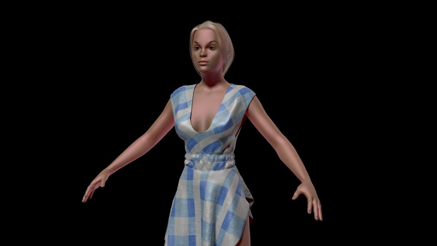 Jennifer Summer Dress