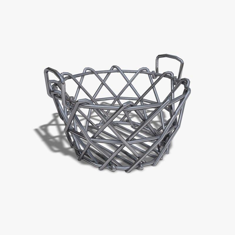 3ds max toy wire basket. Black Bedroom Furniture Sets. Home Design Ideas