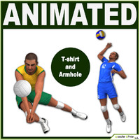 Volleyball Player 3D models