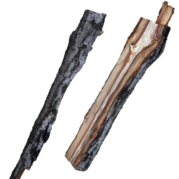 split logs plum 3D Models