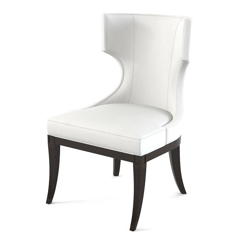 Baker Marat 3848-1 Upholstered Dining Chair