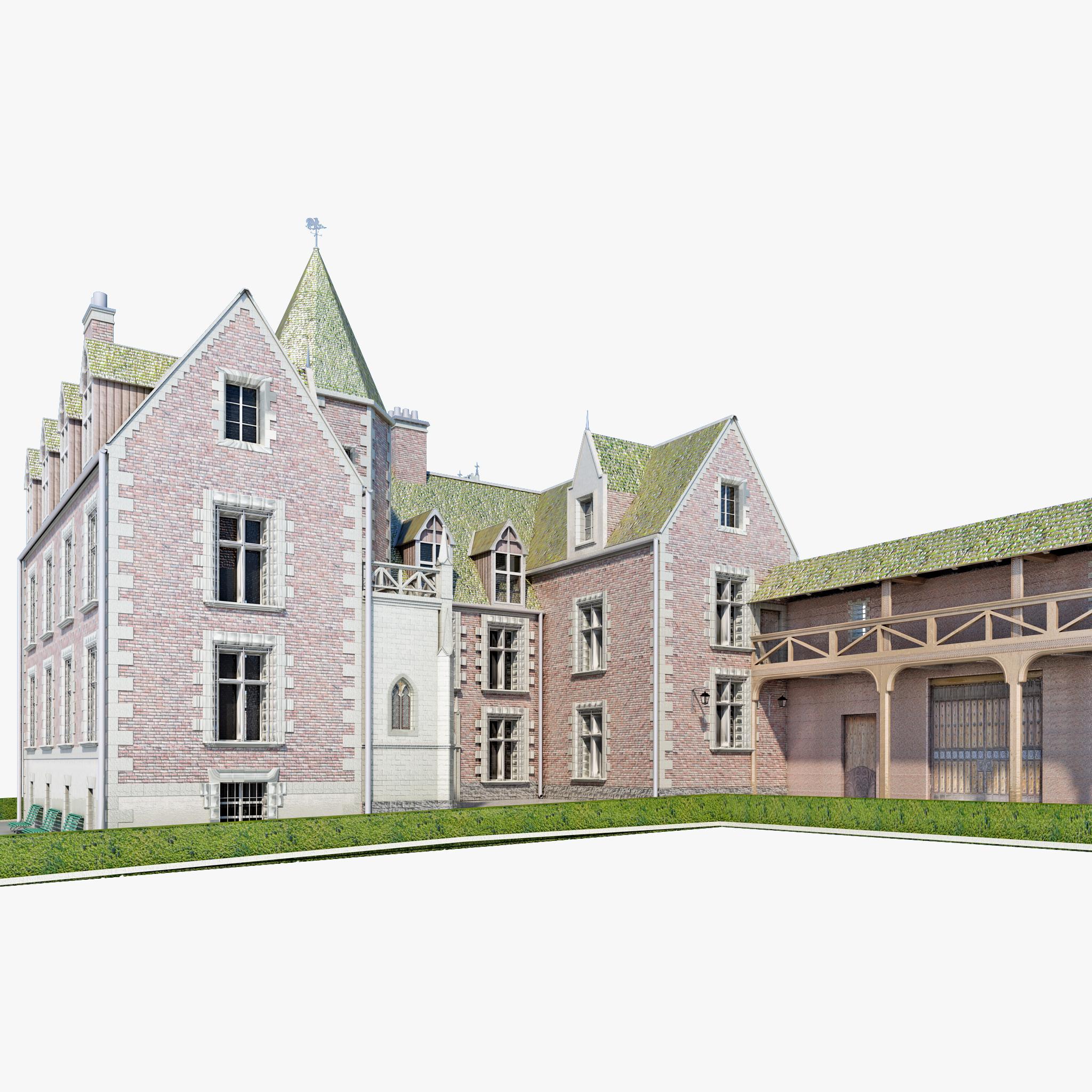 Castle Clos Luce France_1.jpg