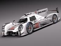 Porsche 919 3D models