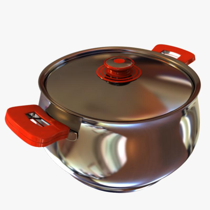 3d pot cook cooker