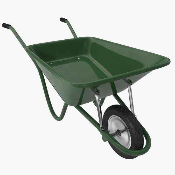Wheelbarrow 3D Models