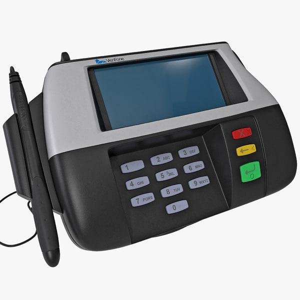 Credit Card Terminal Verifone 3D Models