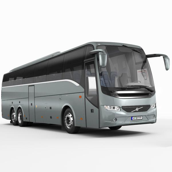Volvo 9900 (2013) 3D Models