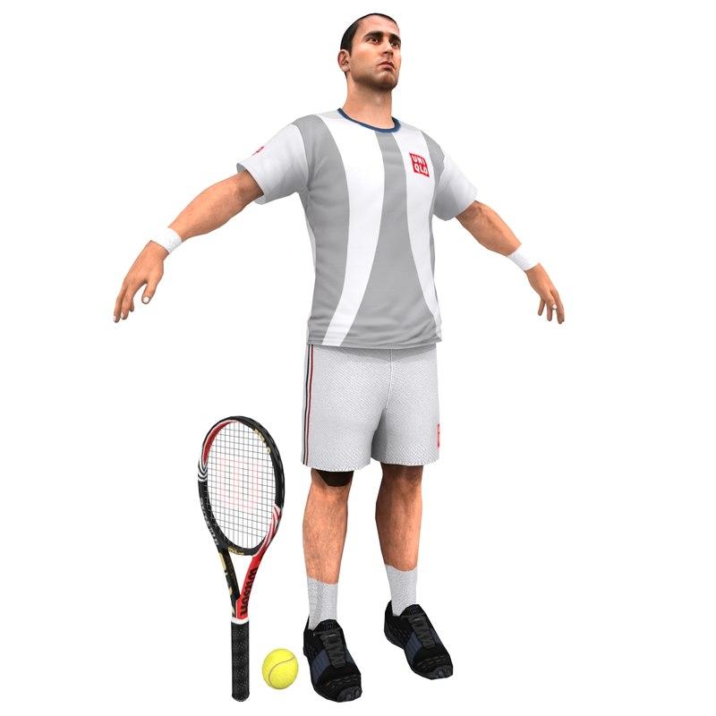 Tennis Player V3