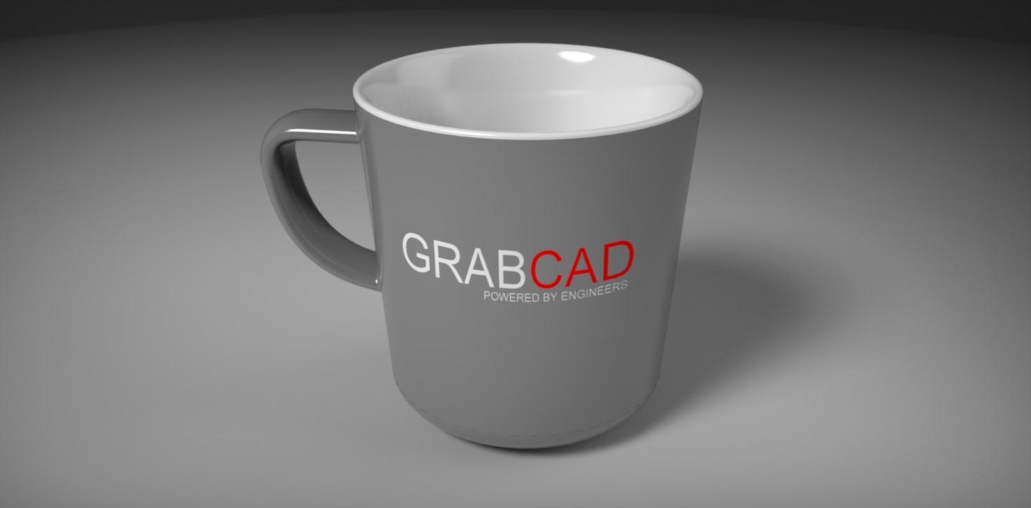 GrabCad mug