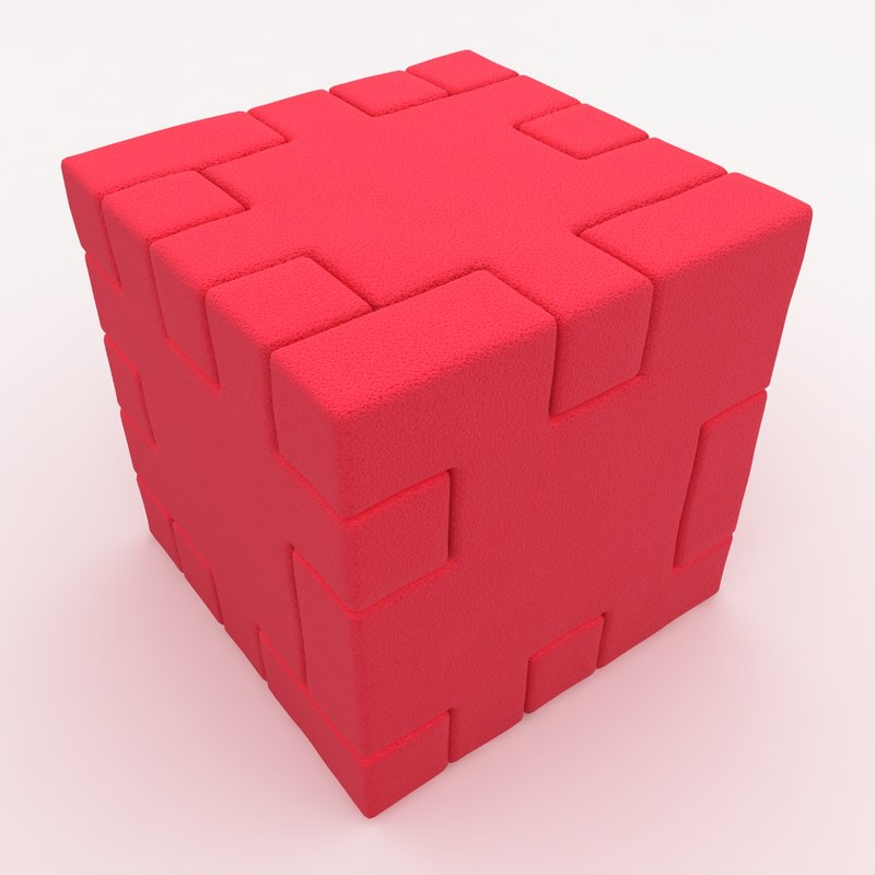 Happy Cube Red