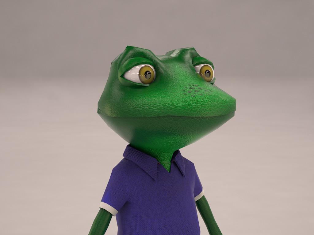 Froggy (Mesh)