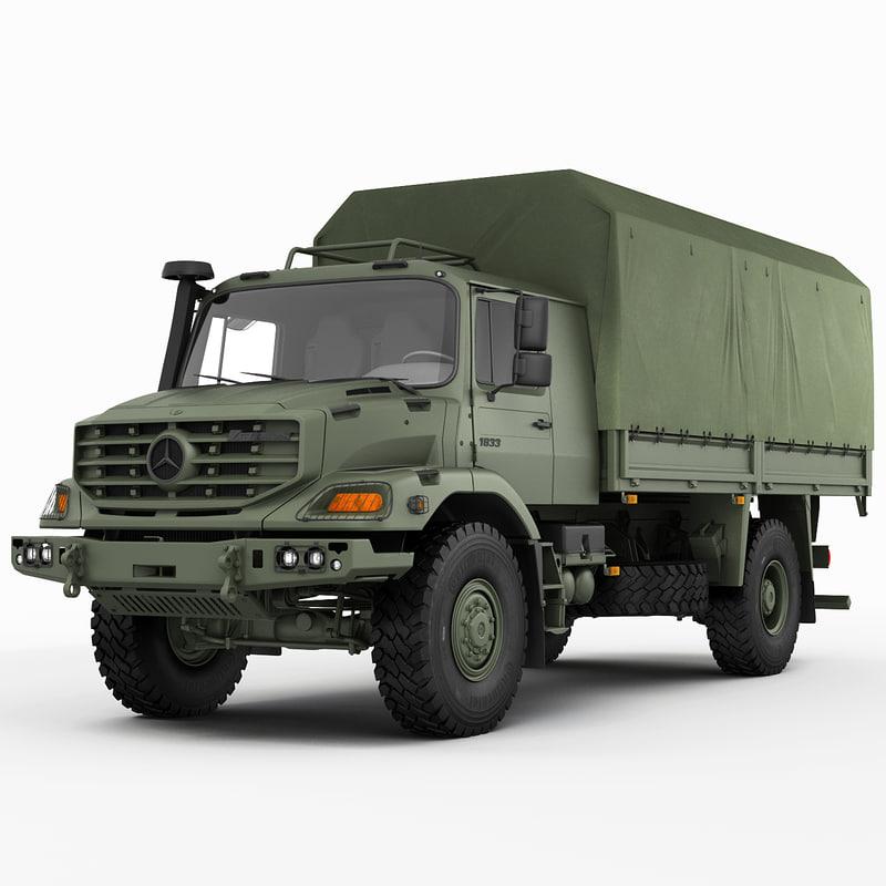 Mercedes Zetros Military 4X4
