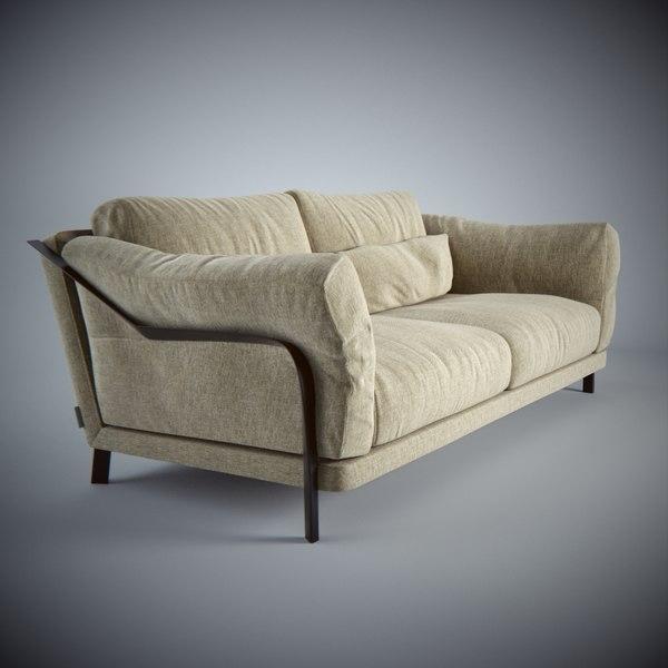CityLoft Sofa 3D Models